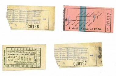 Od biletów MPK z lat 60. ubiegłego stulecia  zaczęło się gromadzenie eksponatów.